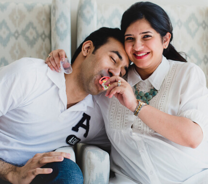 Maternity session for Priyanka & Jashan